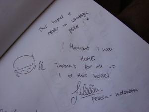 Testimonial Felicia pentru Hostel Cluj
