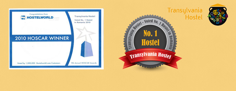 TH5 Transylvania Hostel awarded the best hostel in Romania in 2014 and 2010