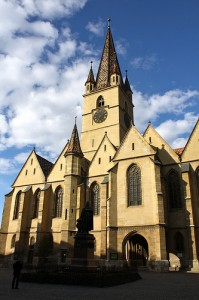 Sibiu's Evangelic Cathedral