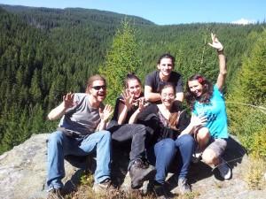 Transylvania Hostel Staff in Baisoara