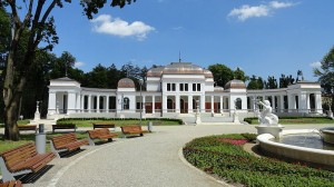 The old casino building in Cluj Napoca Central Park
