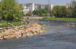Cluj Napoca Somes beach beach