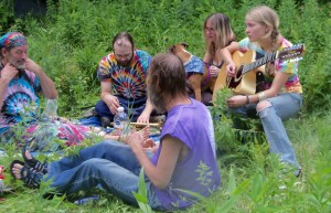 Great Athmosphere at the Rainbow Gathering