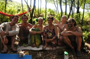 People at the Rainbow Gathering