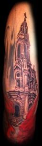 12.Church tattoo