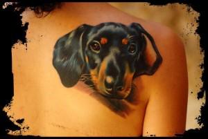 16.Dog tattoo,  Tattoo artists in Cluj-Napoca