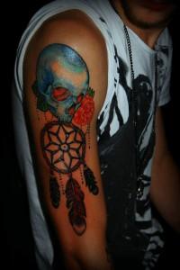 18.Dream catcher tattoo