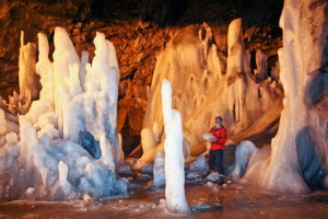 Scarisoara ice cave, Winter wonderland in Transylvania