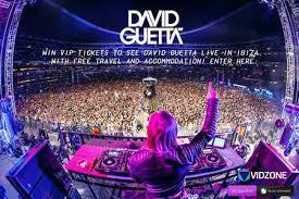 David Guetta performance