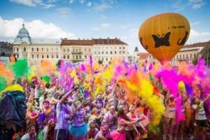 Fun colorful event